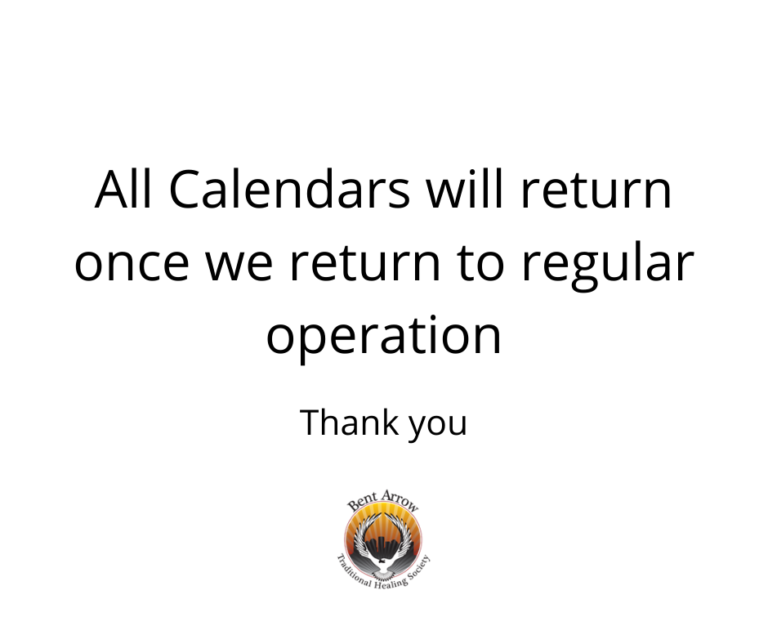 All Calendars will return once we return to regular operation